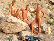(10 pictures) Nudists in Bulgaria