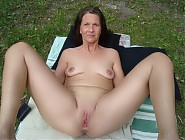 Shameless nudist grannies showing their vaginas